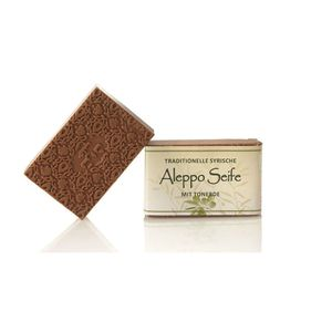 Aleppo Olivenölseife mit Tonerde 100 g