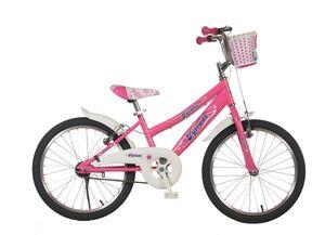 20 Zoll Kinder Mädchen Mädchenfahrrad Fahrrad Mädchenrad Kinderfahrrad Rücktritt Rücktrittbremse Rad Bike Favoris Pink