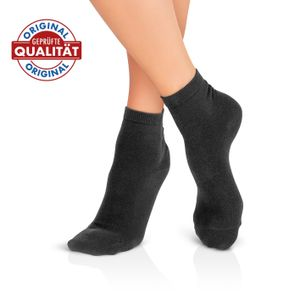 GoBunion Hallux Socken mit integriertem Zehenspreizer, Größe 39-42, schwarz