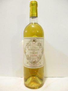 loupiac château rondillon les turons liquoreux 1996 - bordeaux