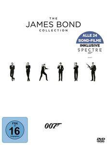 Sean Connery,Daniel Craig,Pierce Brosnan - James Bond-24-Movie-Collection - DVD Boxen