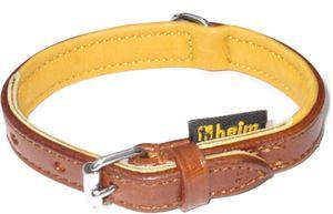 """Heim Lederhalsband """"Ranger"""", 55cm lang, 25mm breit, Farbe: braun/cognac, 2160555"""
