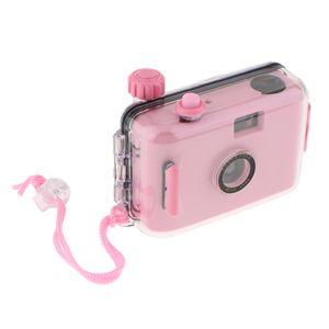 Mini 35mm Filmkamera Wasserdicht Unterwasserkamera Mit Rosa Gehäuse