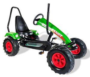 Gokart / Pedal-Gokart Track BF1 Fendt grün mit Überrollbügel DINO CARS