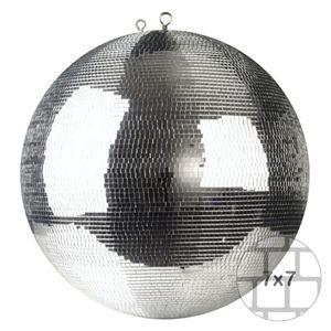 Spiegelkugel 50cm  silber - Safety - Diskokugel Echtglas - 7x7mm Spiegel PREMIUM