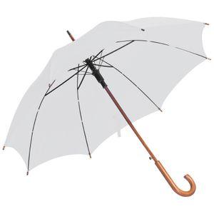 Automatik-Regenschirm / Farbe: weiß