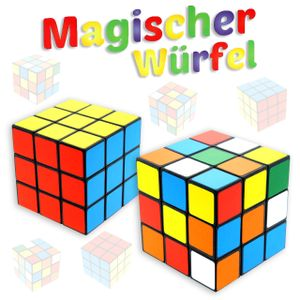 Zauberwürfel Magischer Würfel 6x6cm Spielwürfel Cube Puzzle CP