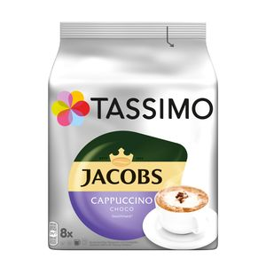 Tassimo Jacobs Cappuccino Choco | 8 T Discs, Kaffeekapseln