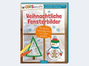 Weihnachtliche Fensterbilder  Wunderbare Fensterdekoration zum Selbergestalten. 20 winterliche Motive zum Ausmalen, Ausschneiden und Dekorieren  507  mit Ton- und Transparentpapier.