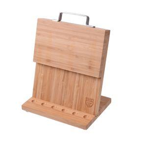 GRÄWE Magnet-Messerhalter Bambus klein