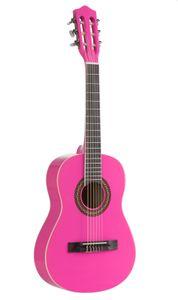 Voggenreiter Kindergitarre (1/2) pink