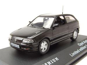 Opel Astra GSi 1992 schwarz Modellauto 1:43 Triple9