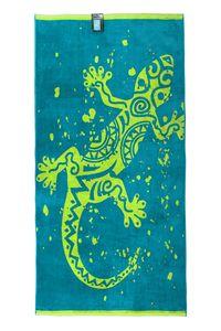 jilda-tex Strandtuch Gecko 90x180 cm Badetuch