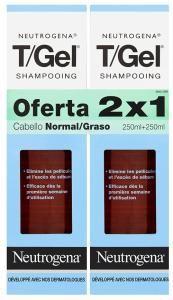 Neutrogena Gel Shampoo Fat Dandruff (2 x 250 ml)