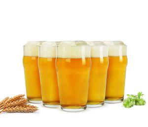6 Pintgläser 0,5L Biergläser Bierglas Pilsgläser Pint Glas Trinkgläser Saftgläser