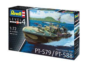 Revell 05165 1:72 Patrol Torpedo Boat PT-588/PT-57