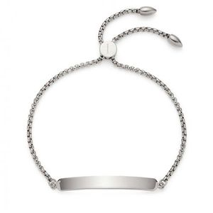 Leonardo Armband Elisa Gravur Silber