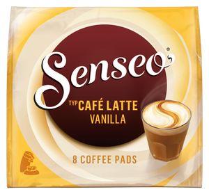 Senseo Café Latte Vanilla   8 Kaffeepads