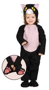 Baby Katzenkostüm, Größe:86/92
