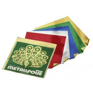 Folia Beutel Hartmetallfolie 40 µ, 25 x 30 cm, 5 Farben, mehrfarbig, 5-teilig (1 Set)