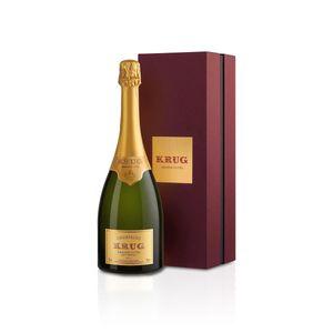 Krug Grande Cuvée 168ème Edition Brut Champagne in Geschenkverpackung, Paket mit:1 Flasche