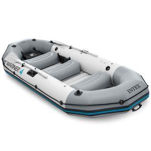 Intex Mariner 4 Schlauchboot-Set  Paddel Pumpe Sitzkissen  4 Personen 68376NP