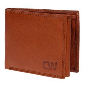 Christian Wippermann Herren echt Leder Geldbörse mit em RFID Schutz inklusive Geschenkbox