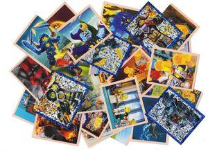 LEGO Nexo Knights - Sammelsticker - 50 verschiedene Sticker
