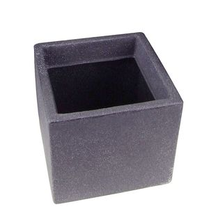 Pflanzkübel 20 x 20 cm anthrazit kubus aus  Kunststoff