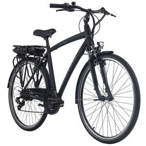 Pedelec E-Bike Cityfahrrad 28'' Adore Versailles schwarz-blau Adore 113E