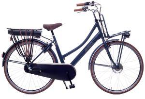 Amigo E-Pulse - Elektrofahrrad für Damen - E-bike 28 Zoll - Damenfahrrad mit Shimano 3-Gang - Blau