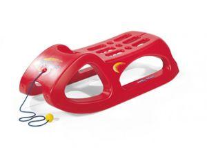 rolly toys SnowCruiser hohl geblasener Schlitten rot , Maße: 94x44x27 cm; 20 012 2