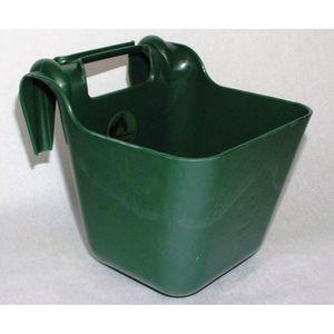 Turnierfuttertrog Kunststoff Futtertrog Pferdetrog 13 Liter grün