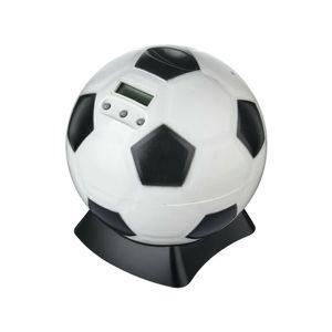 Digital Fußball Sparschwein Spardose Sparbüchse mit Zählwerk Münzzähler Display