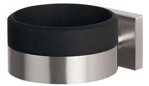 Spirella Fönhalter, Haartrocknerhalter aus robustem Edelstahl matt zum Schrauben und Bohren HxBxT: 6x9x12 cm