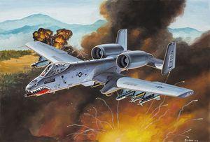 Revell Easykit Steckbausatz A-10 Thunderbolt II 1:100