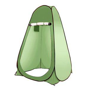Winddichter automatischer Outdoor-Sichtschutz Zelt Toilette Strand Umkleidekabine zum Wandern Camping Selbstfahrende Tour Grill Farbe Hellgrün