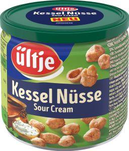 Ültje Kessel Nüsse Sour Cream frischen Kräutern Erdnüsse 150g
