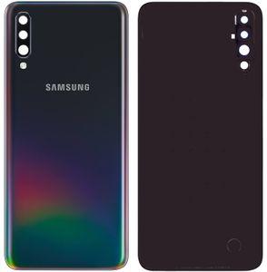 Original Samsung Galaxy A50 SM-A505F Akkudeckel Backcover Hinten Schwarz Gut