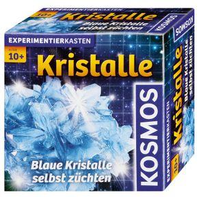KOSMOS Experimentierkasten Blaue Kristalle selbst züchten Set Chemie Klein 656034