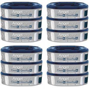 Angelcare Nachfüllkassetten für Windeleimer Dress-Up und Classic XL 12er Pack