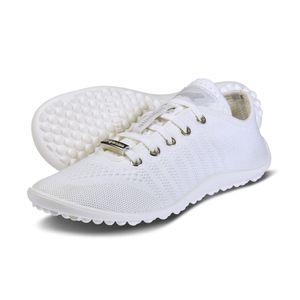 Leguano Go: , White, Damen, Barfußschuh, Textil, NEU - Barfußschuhe DAMEN, Weiß