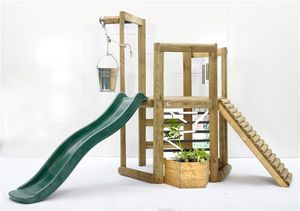 Spielturm Plum Discovery Spielhaus Holz 270x240x193cm