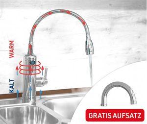 Aquadon Smart Heater | Armatur mit integriertem Durchlauferhitzer| Mediashop