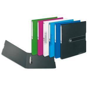 6x Herlitz Ringbuch / DIN A4 / 16mm Füllhöhe / aus PP / 6 verschiedene Farben