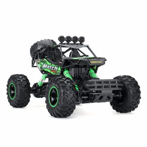 (Grün) 37CM 2.4G 4WD RC Monster Truck Geländewagen Buggy Crawler Car Remote