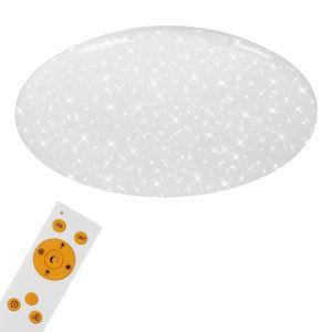 LED Deckenleuchte Sternendekor dimmbar CCT Ø 56cm 50 Watt Briloner Leuchten
