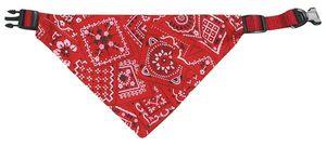 Halsband und Hundehalstuch Bandana 35-50 cm rot Karlie