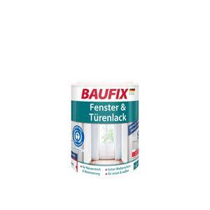 BAUFIX Fenster & Türenlack weiß seidenmatt