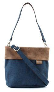 ZWEI Handtasche Umhängetasche Olli OT8, Farbe:blue / blau